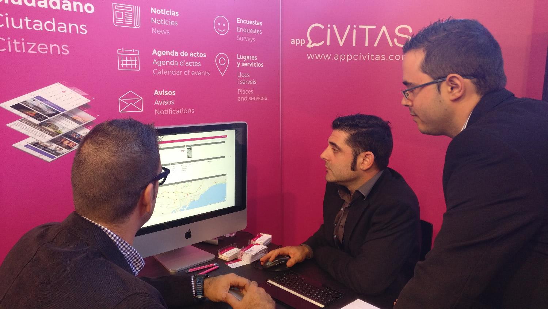 Civitas, l'App que apropa els Ajuntaments  als ciutadans, de nou present a Municipalia